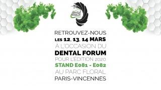 Retrouvez-nous au Dental Forum 2020